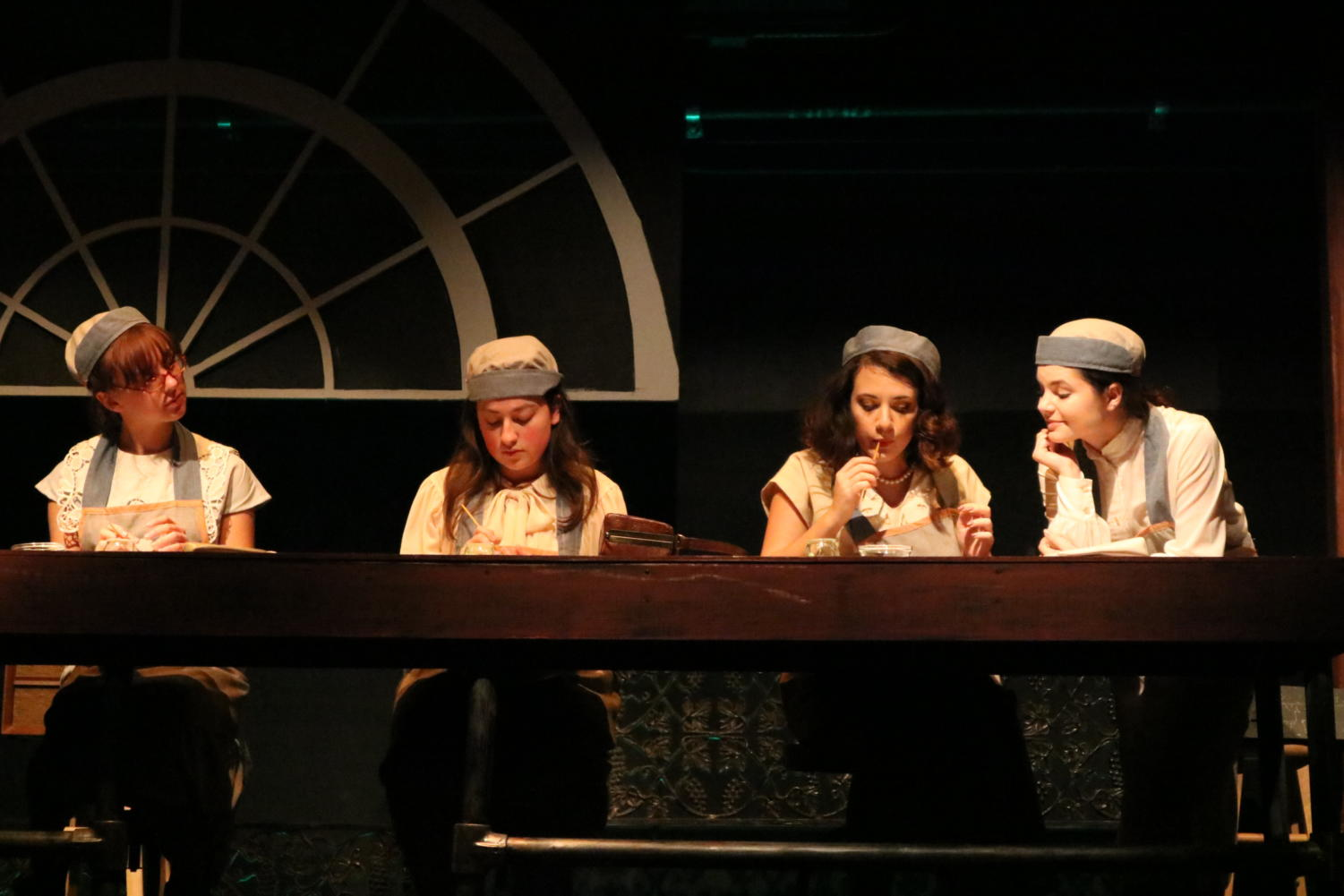 Loyola students portray the Radium Girls who were exposed to radium in workplace,