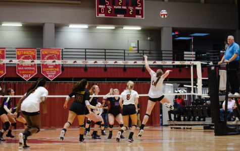 Loyola volleyball claims first home win