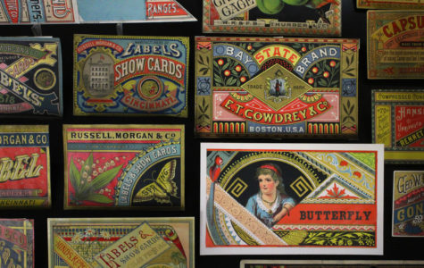 Loyola professor shares trade card collection