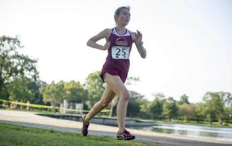 Runner receives award