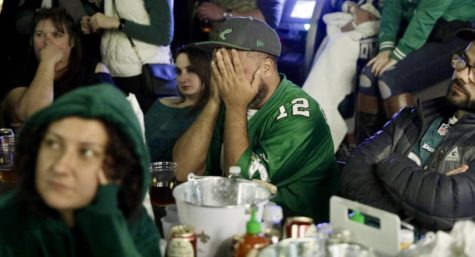Philly fans witness Eagles fly out the playoffs