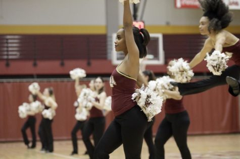 Dance team finishes 12th on national stage