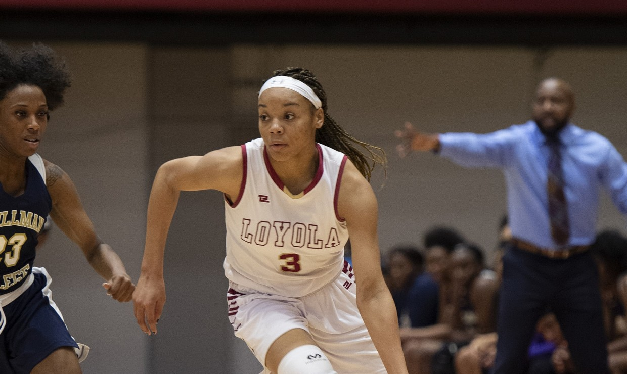 Freshman Tay Cannon had her best game of the season. Cannon shot a career-best in points and had a career-best in steals off the bench. She racked up 22 points and six steals, the most by any member this season. Photo credit: Andres Fuentes