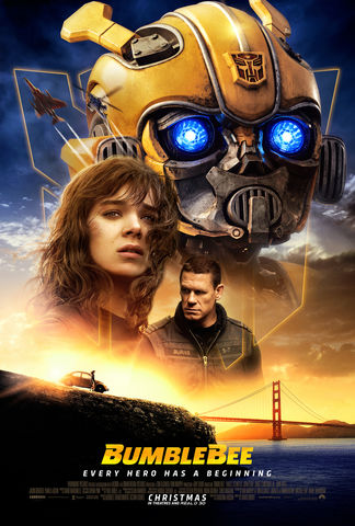 Movie poster of Bumblebee.