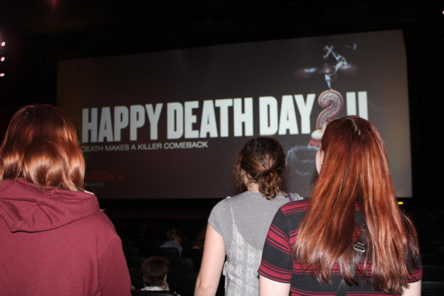 Loyola students were given the opportunity to see Happy Death Day 2U early. Photo credit: Hannah Renton