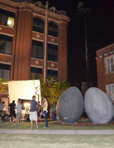 Filming on campus generates school spirit and revenue