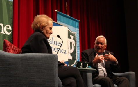 Former U.S. secretary of state visits Tulane to talk about fascism