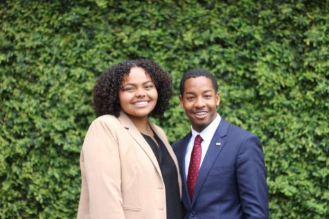Reichmann and Richardson make plans for next year's SGA