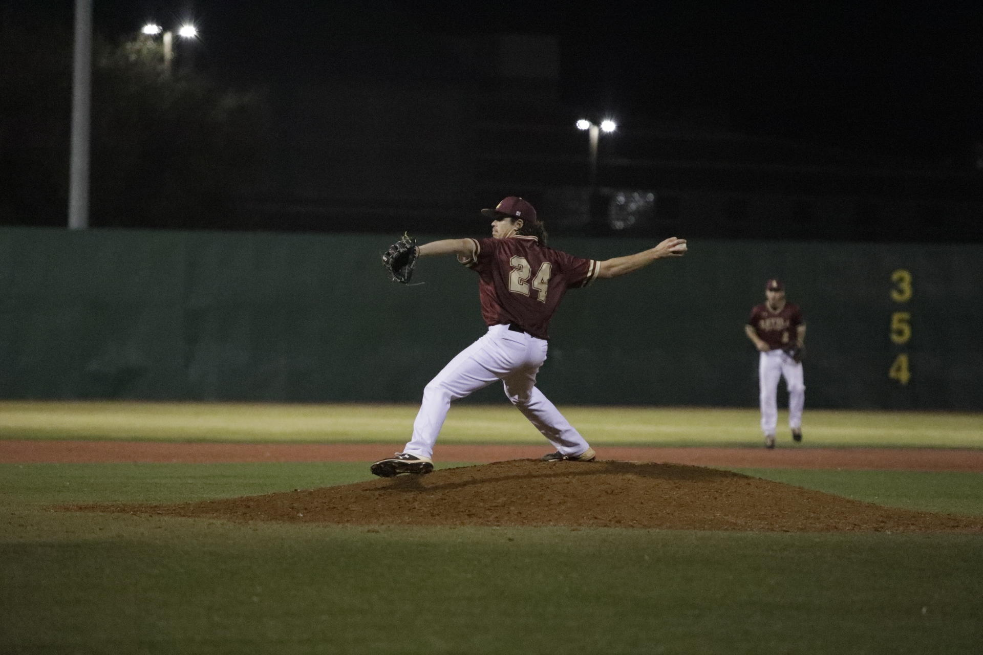 Computer information systems junior Gary Cavallo Jr. earned his third win of the season. Cavallo threw for six innings and allowed just two runs and striking out five batters.