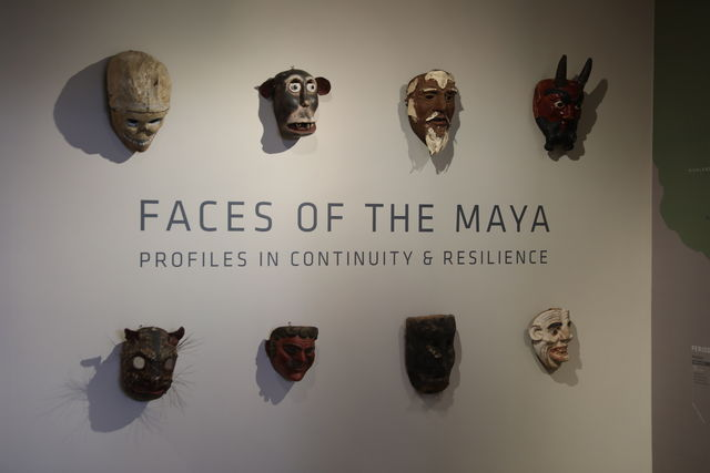 Mayan+masks%2C+both+ancient+and+modern%2C+line+the+wall+of+the+MARI+gallery.+The+gallery+is+open+to+the+public+for+anyone+that%27s+interested.