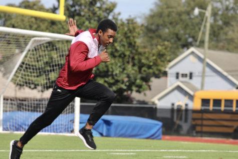 Jarrett Richard hopes to sprint his way into history
