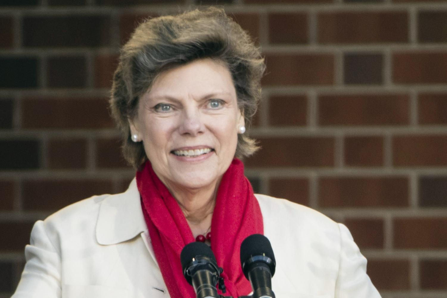 In this April 19, 2017, file photo, Cokie Roberts speaks during the opening ceremony for Museum of the American Revolution in Philadelphia. Roberts, a longtime political reporter and analyst at ABC News and NPR has died, ABC announced Tuesday, Sept. 17, 2019.  She was 75. (AP Photo/Matt Rourke) Photo credit: Associated Press