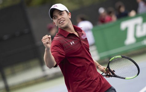 Tennis team recruits abroad to find success