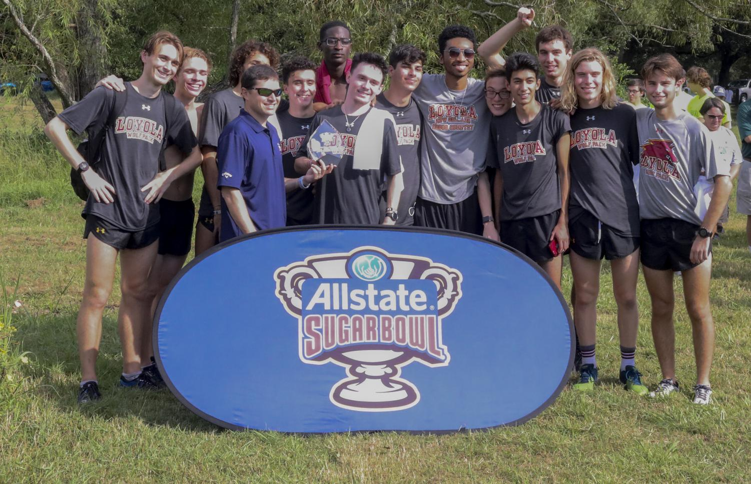 Both the men's and women's cross-country teams have been practicing without a head coach, and have still found success this season.