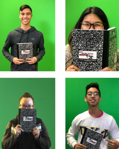 (Top left) advertising freshman London Hua, (top right) Amy Ngo, (bottom left) Gabby Lenz, (bottom right) journalism senior JC Canicosa. Photo credit: Jc Canicosa