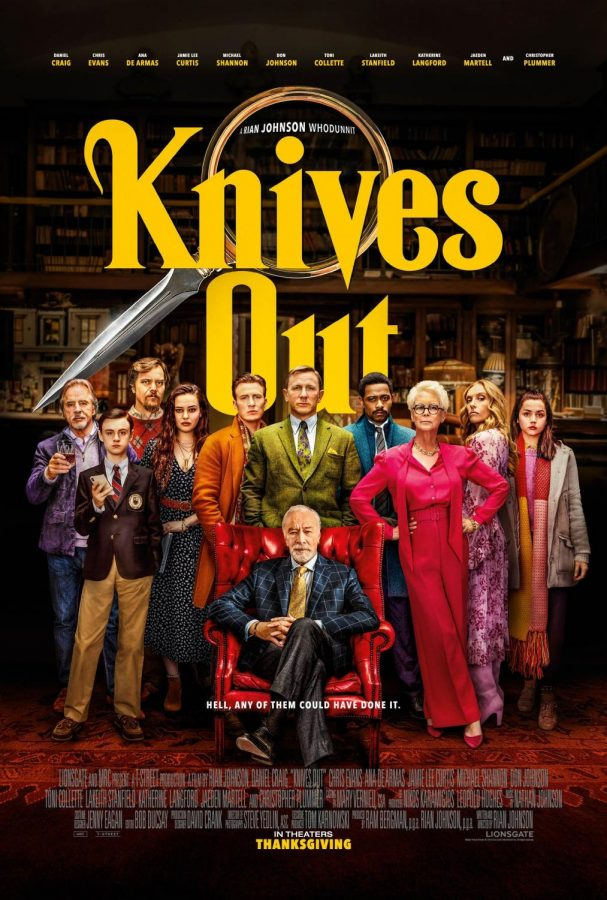"""""""Knives Out"""" sticks a modern twist into the mystery genre"""