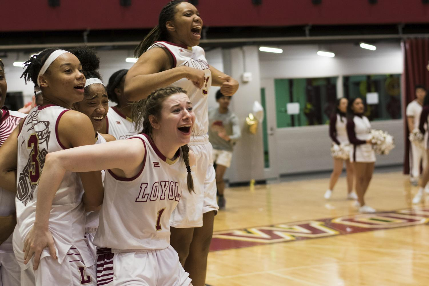 Accounting senior Paige Franckiewicz and the women's team have earned three championship rings. One after the team won the regular season title, and two rings for being conference  champions. Photo credit: Michael Bauer