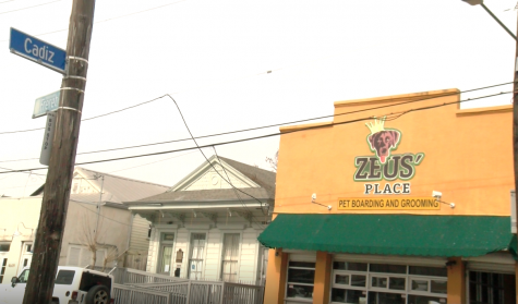 Zeus' Place sits on the corner of Freret and Cadiz streets.