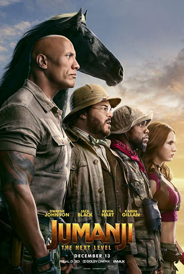 """Review: """"Jumanji: The Next Level"""" is fun, fast-paced adventure"""