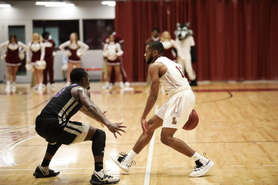 The men's basketball team beat Jesuit rival Spring Hill College 89 - 79 on Jan. 15 at home in the Den.