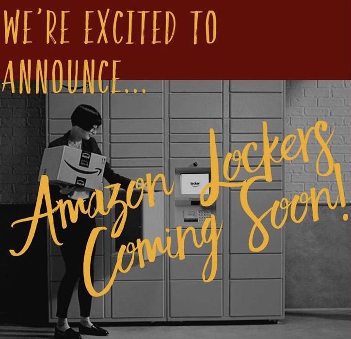 Amazon lockers coming to Loyola