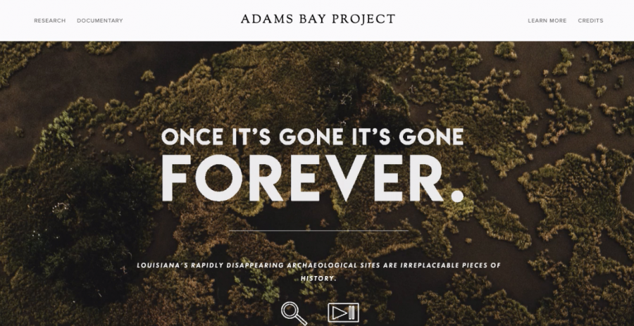 Peyton Finch created this website to help get the message and information about Adams Bay to the public in June, 2019. Finch also directed the National Geographic-funded documentary.