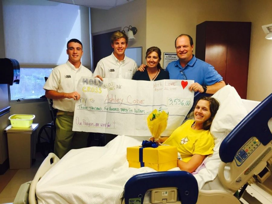 Non-profit honors local high school student