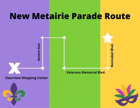 As of this year, all Metairie parades, except the ones on Mardi Gras day, will line up on Bonnabel Blvd. The route change has led to heavy traffic and angry residents Photo credit: Sam Lucio
