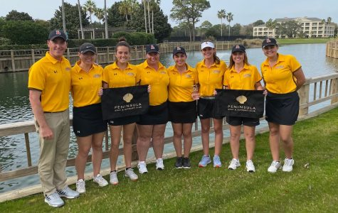 The Wolf Pack women's golf team is all smiles after winning the Georgetown College Invitational.  The Wolf Pack are back in action later this month when they host the Loyola Wolf Pack Spring Invitational March 23-24.