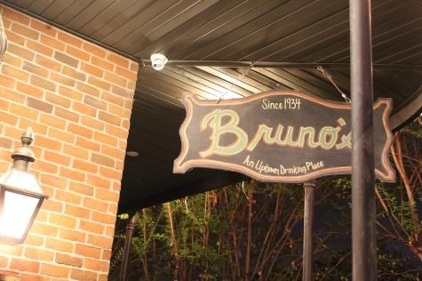 The outside of Bruno