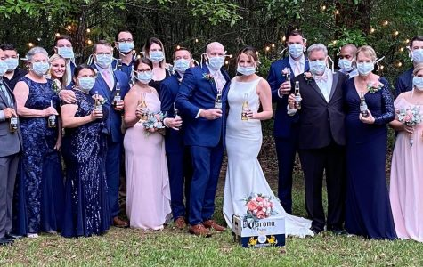 Couple scrambles to re-organize wedding due to COVID-19 pandemic
