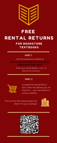 The Loyola bookstore has extended the deadline for textbook returns