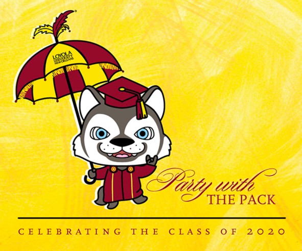 Online party starts the celebration of 2020 graduates
