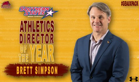 Wolfpack athletic director Brett Simpson wins the SSAC AD of the year award for the second year in a row Courtesy of Wolf Pack Athletics