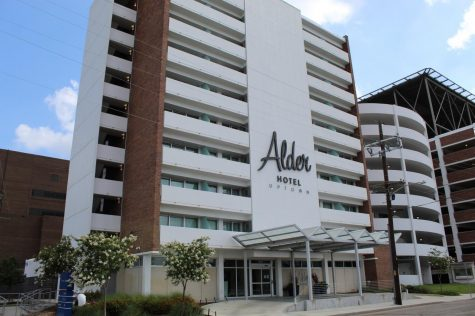 The Alder Hotel Uptown is a mile away from Loyola University New Orleans. Loyola has just announced a deal with The Adler to house some of the displaced upperclassmen during the Fall 2020 semester. Photo credit: Alexandria Whitten