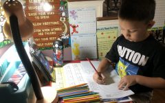 Navigation to Story: Parents help kids cope with online school during COVID-19