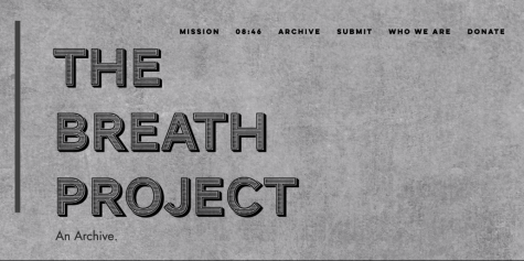 "A photo of the website of ""The Breathe Project"""