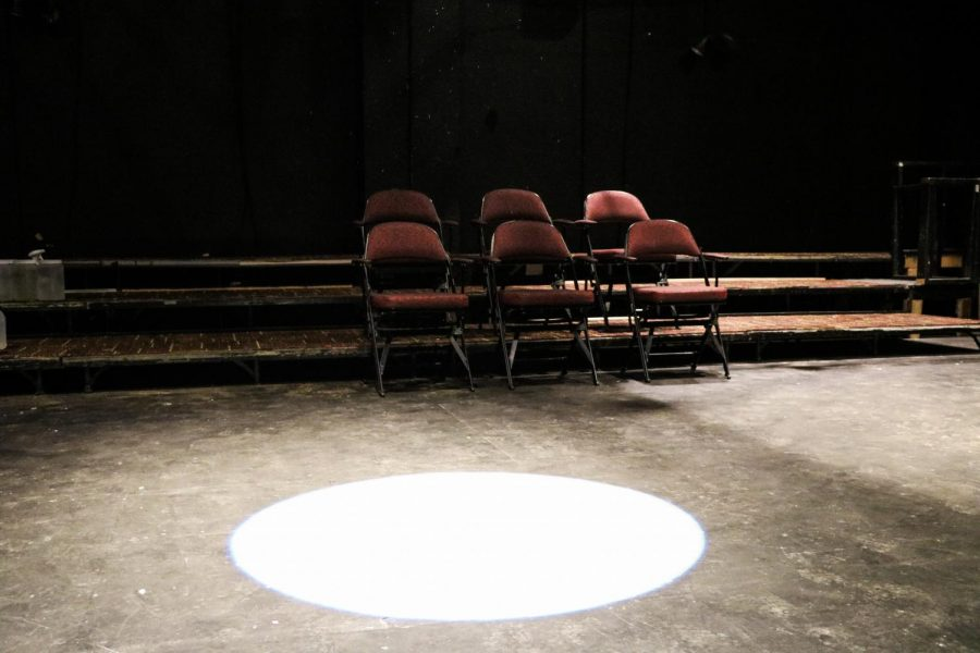 The+Lower+Depths+Theatre+sits+empty+Sept.+22.+The+theater+is+not+being+used+because+of+COVID-19+restrictions+and+the+theater+program+is+working+to+develop+new+ways+to+practice+and+perform.+Photo+credit%3A+Hannah+Renton