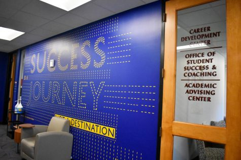 The Student Success Center encourages students to reach out for career development, success coaching, and academic advising. The Success Center recieved a $1.4 million grant that they will disperse over the next five years. Photo credit: Maria Paula Marino