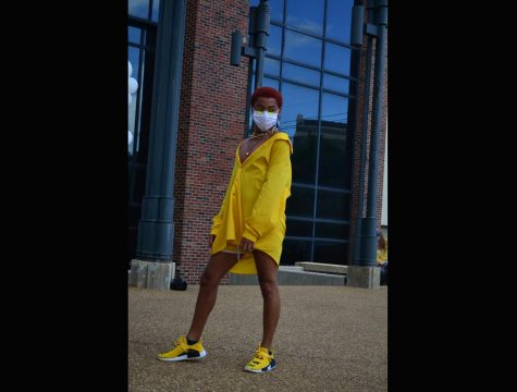 Von LaRae takes to the catwalk in Loyola a la Mode