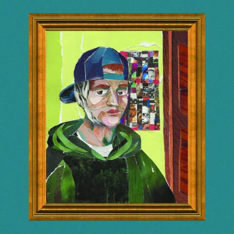 """The album cover for """"Portraits""""was illustrated by artist and student Emma Jackson."""