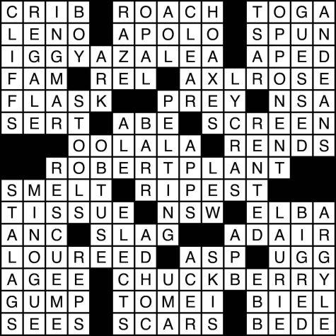 Sept. 30, 2021 crossword answers